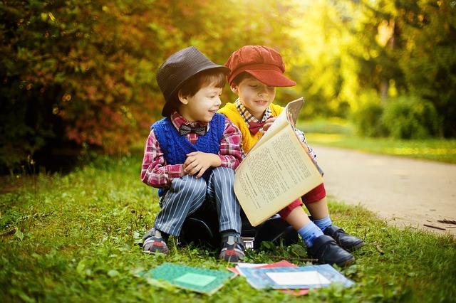 chlapci a knihy