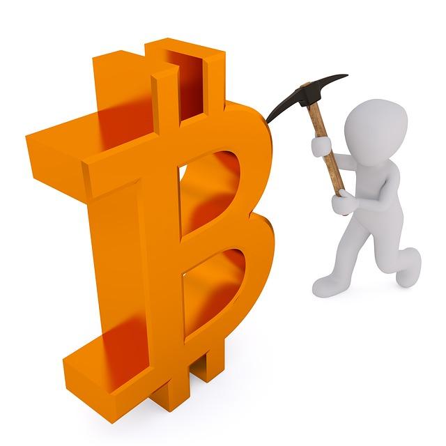 s krumpáčem na bitcoin