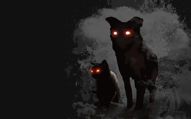 nestvůry ve tmě